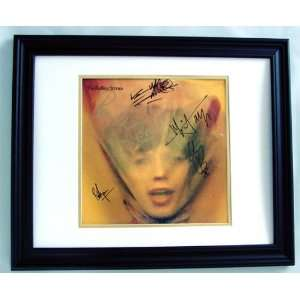 THE ROLLING STONES Autographed Album Cover x5 Sports