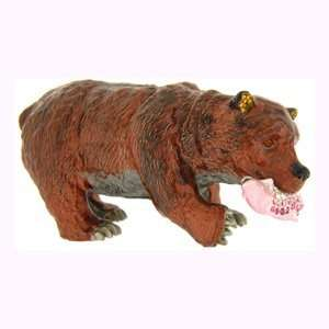 Enamel Swarovski Crystal Alaskan Bear Keepsake Box (2 3