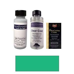2 Oz. Aqua Green Metallic Paint Bottle Kit for 1998 Audi