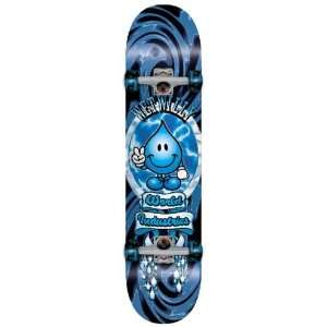 World Industries Wet Willy Swirl Full Size Complete Skateboard
