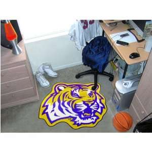 Louisiana State Fightin Tigers NCAA Cut Out Floor Mat