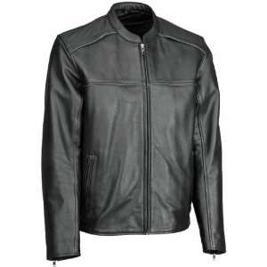 River Road Seneca Cool Leather Jacket   46/Black