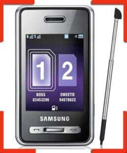 Unlocked Samsung SGH D980 Cell Phone  GSM Bluetooth 8808987877378
