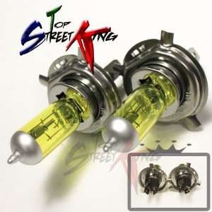 99 02 Land Rover Discovery H4 Super Yellow Light Bulbs For