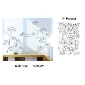 Reusable/removable Decoration Wall Sticker Decal   Happy