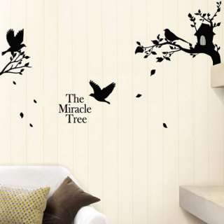bird tree wall removable decal sticker