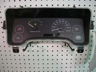 JEEP XJ Interior Dash Instrument Cluster Speedometer