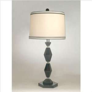 Dale Tiffany Lighting GT70037 Monteneg One Light Crystal Table Lamp